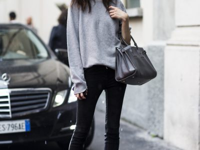 How to Wear Grey Like a Street Style Star