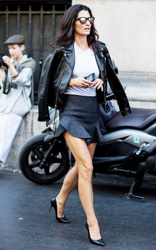 How to Master Wearing a Miniskirt Like an It-Girl