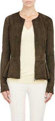 Women's Zip-Peplum Anasta Jacket