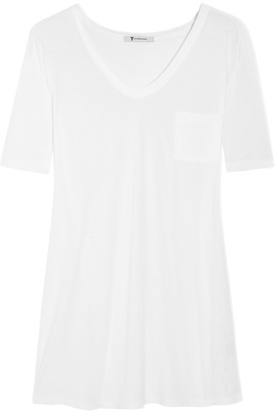 Classic Slub Jersey T-Shirt White