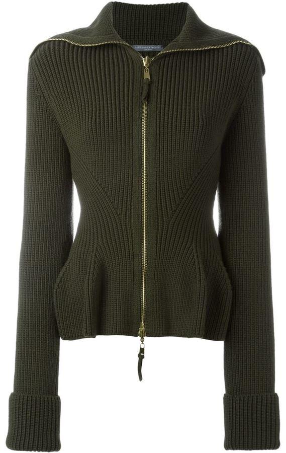 Knit Peplum Jacket