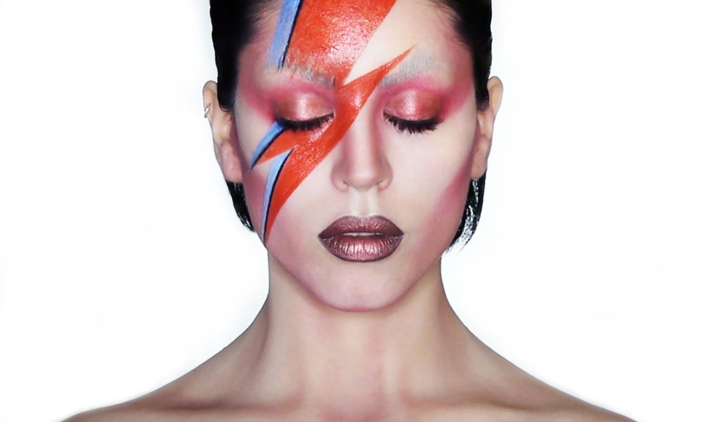 David Bowie Lightening Bolt Eye Makeup Tutorial