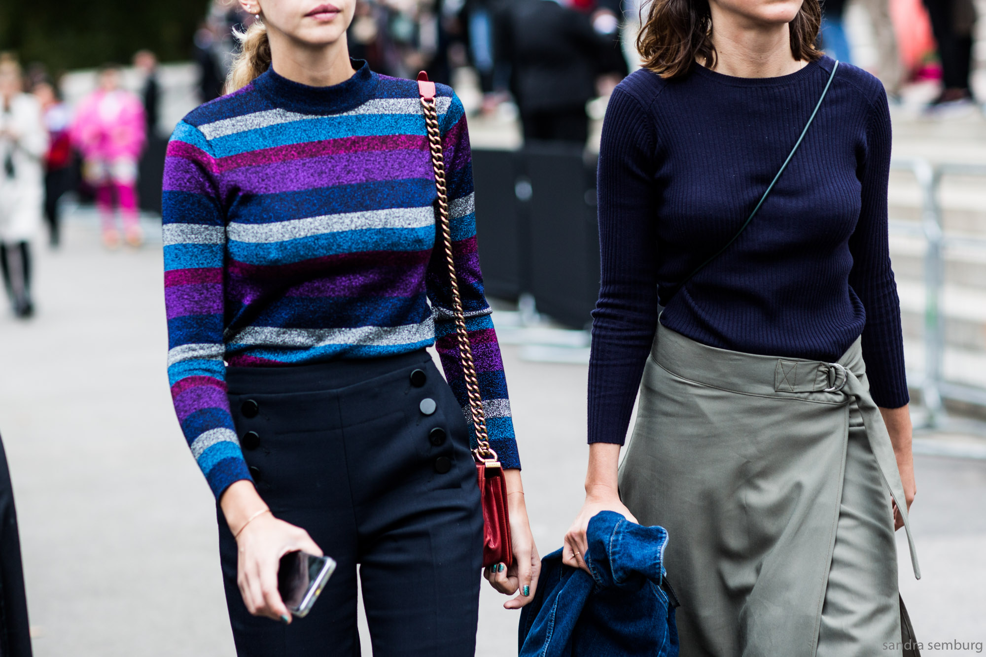 The Most Slimming Way to Wear Stripes Isn't What You Think