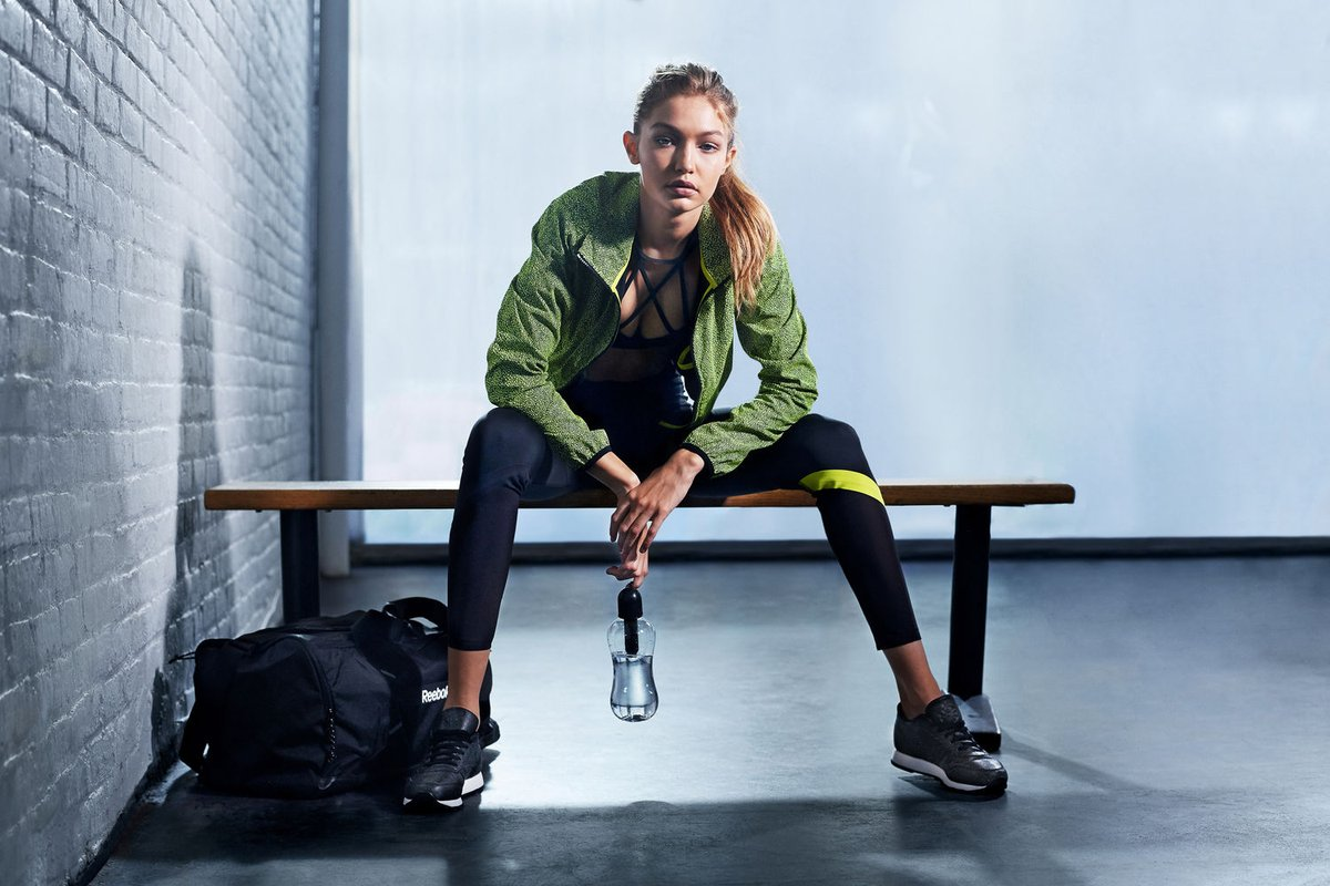 """Gigi Hadid Opens Up About Imperfections In Reebok's Club C """"Diamond"""" Pack Campaign"""