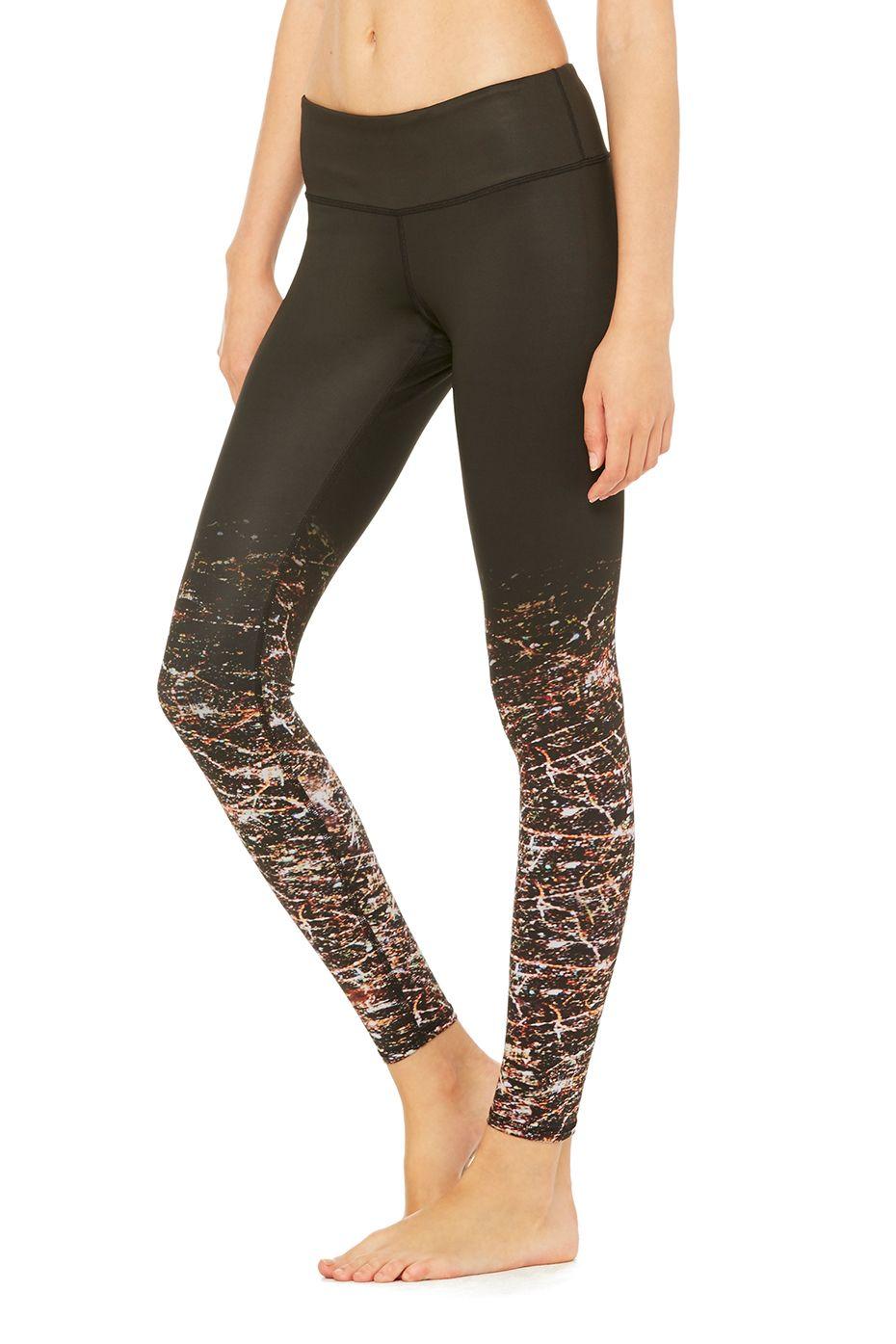 Alo Yoga Tech Lift Airbrush Leggings