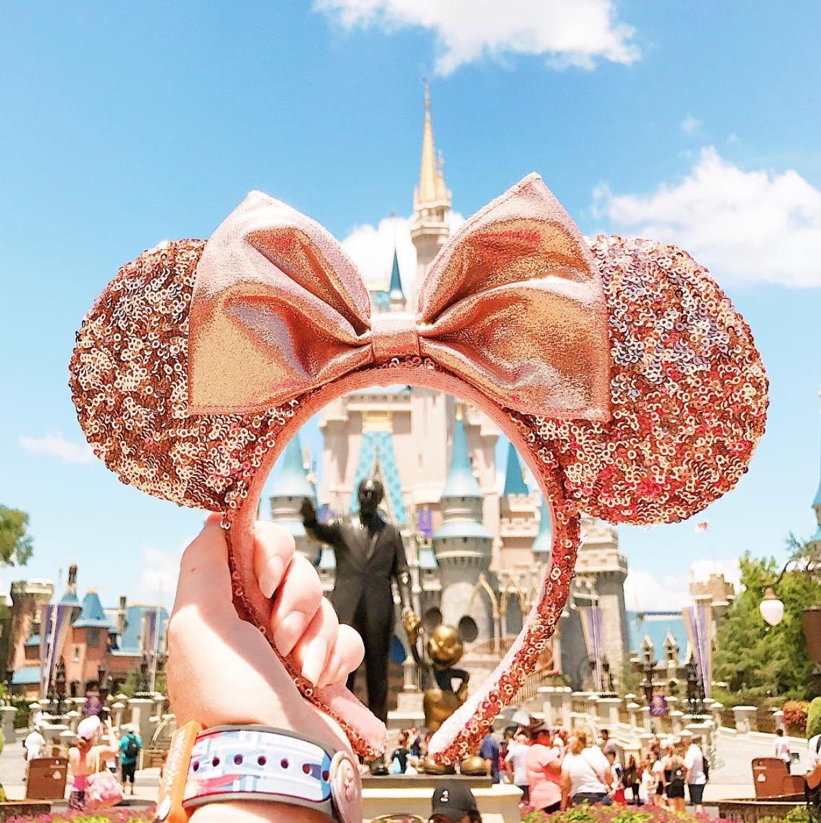 Disney Just Released Rose Gold Minnie Ears, and They're Giving Us All the Good Feels