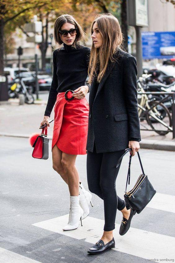 Power-Dressing Tips For How to Style Leggings for Work