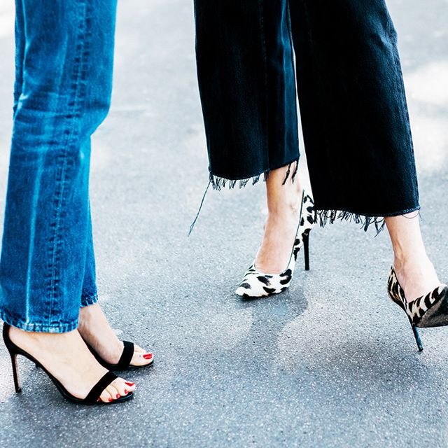 Lust-Worthy Heels That  Look Great With Jeans