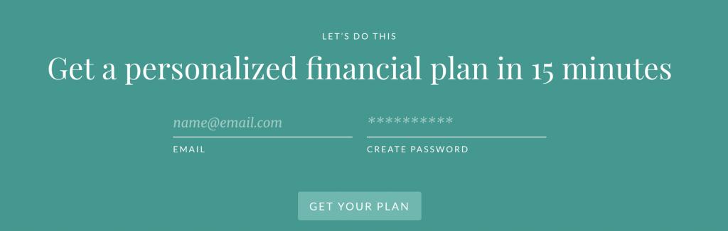 Get a Free Financial Plan