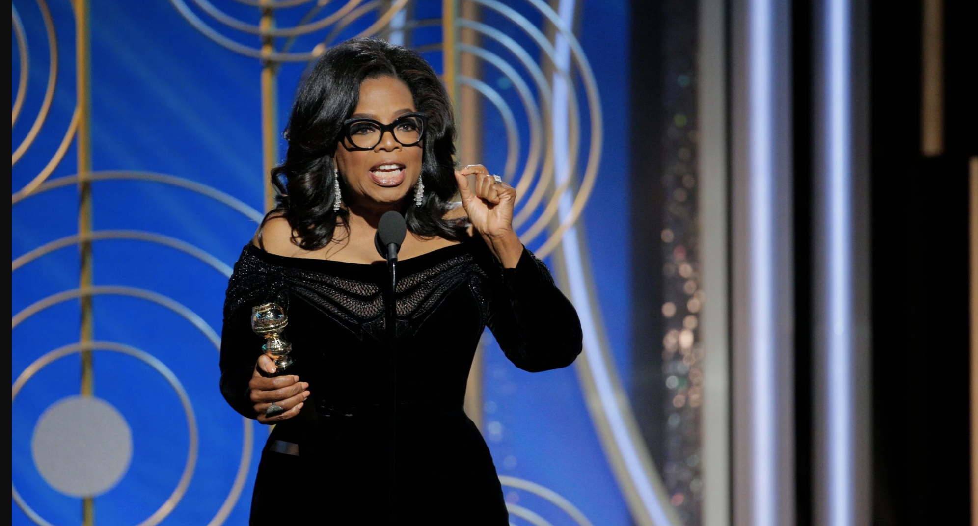 Oprah's Golden Globes Speech Preaches a Feminist Mantra and Here's Why