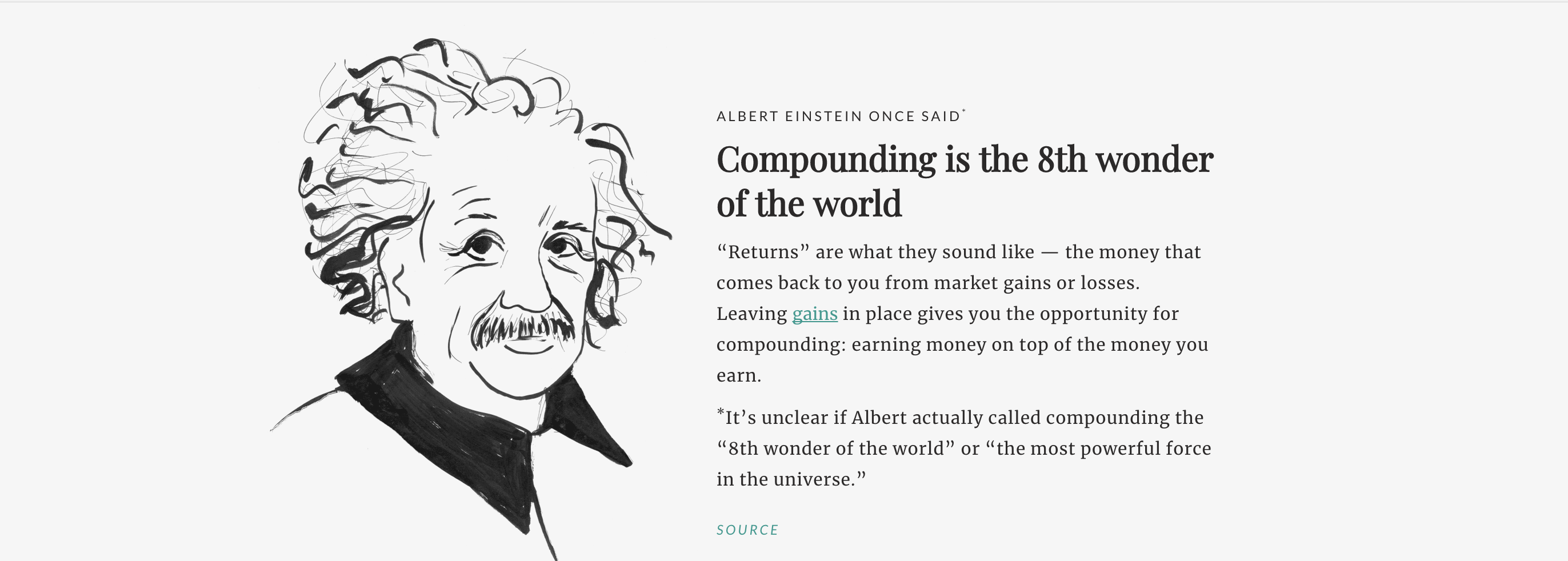 Compounding is the 8th wonder of the world