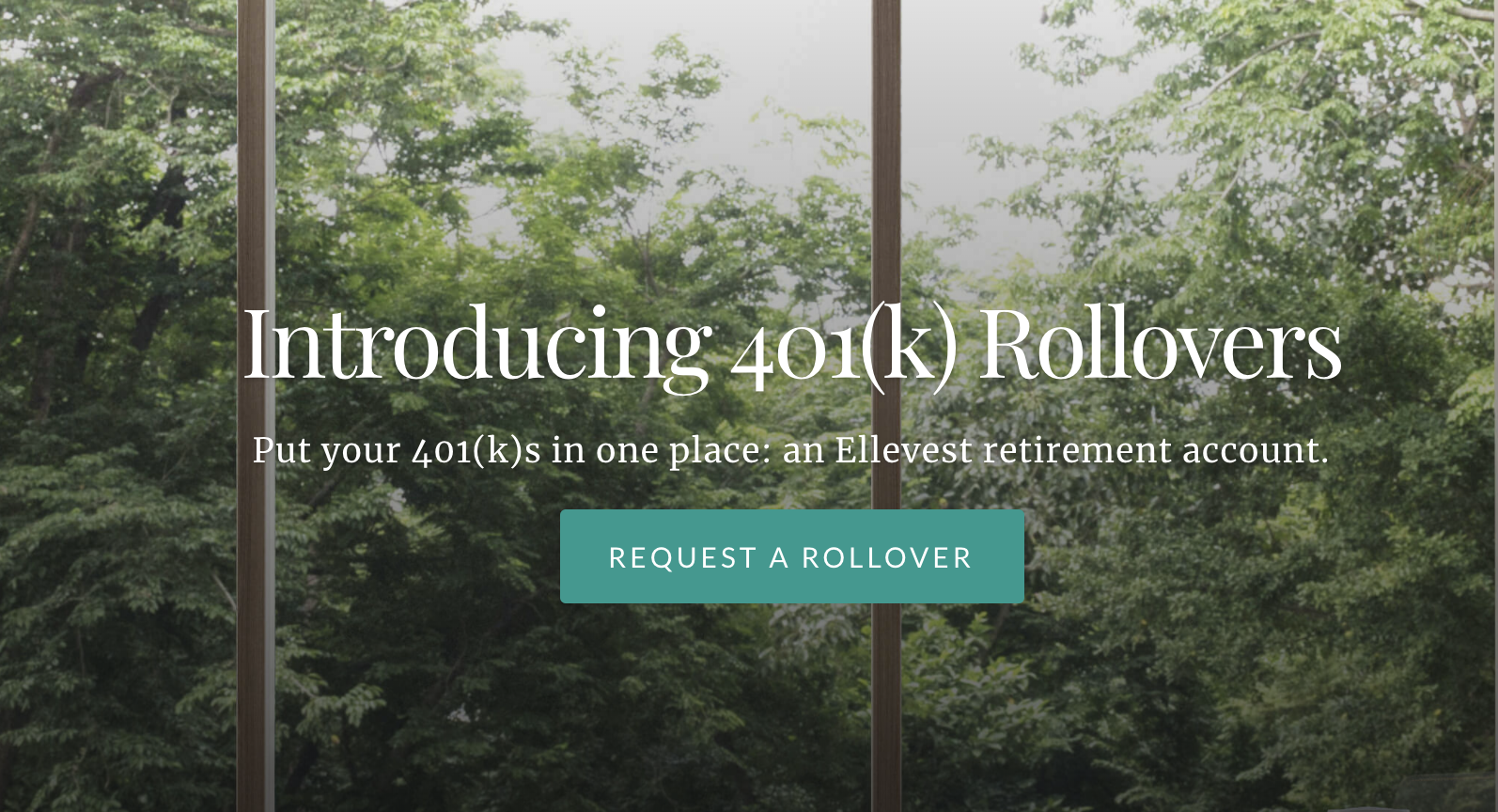 Click here to rollover your 401k Plan to Ellevest