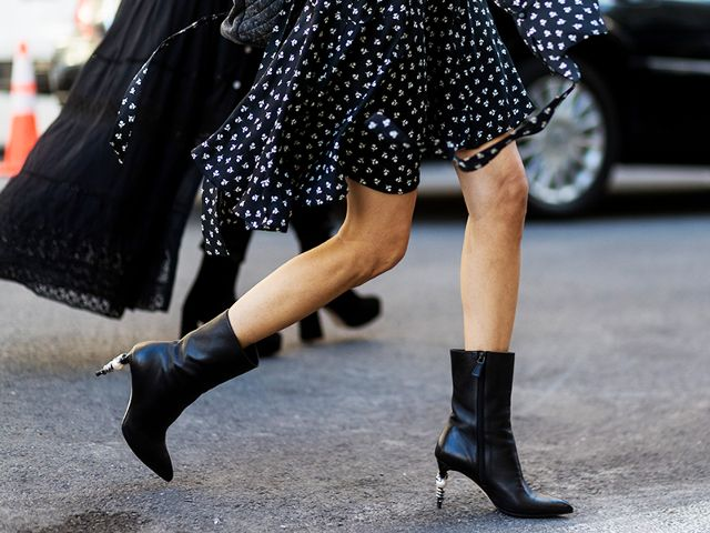 The Coolest Dress-and-Boot Pairings to Shop Now