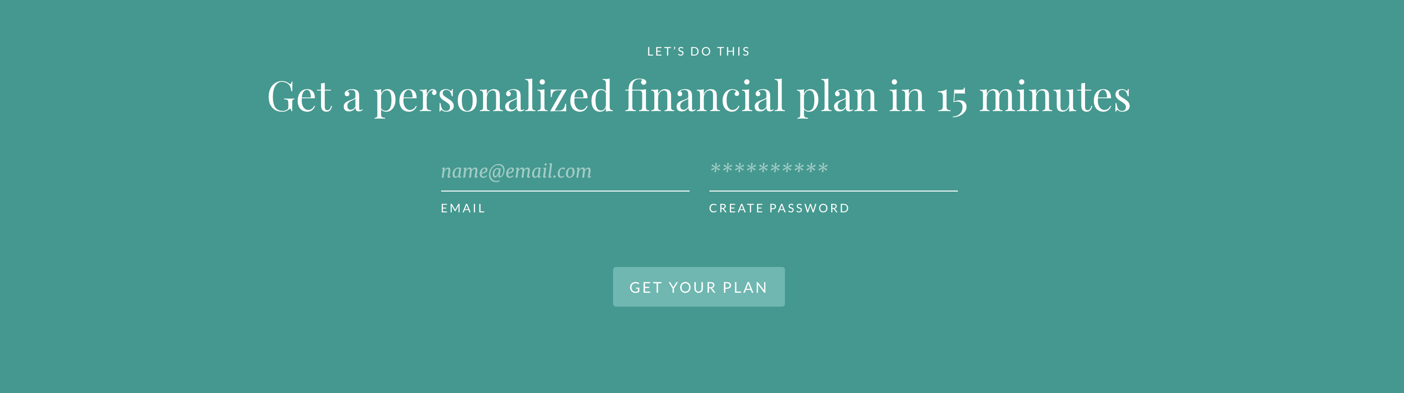 Click here to get you personalized financial plan from Ellevest