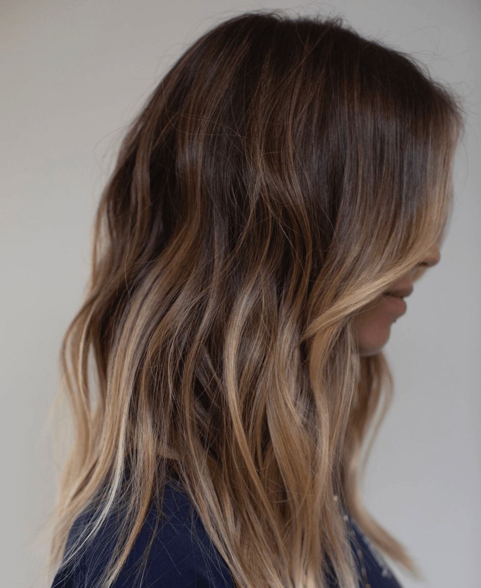 Hair Highlight: 10 Examples Of Dark Brown Hair With Highlights