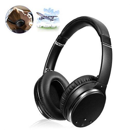 Active Noise Canceling Bluetooth Headphones