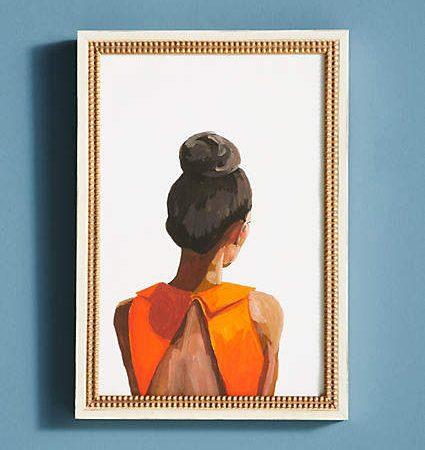 Artfully Walls Top Knot 35 Wall Art