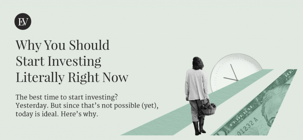 Why You Should Start Investing