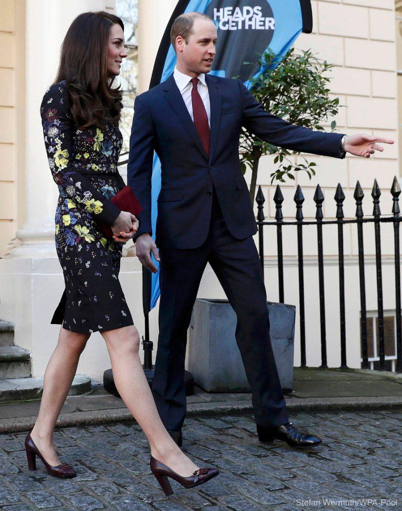Kate Middleton Heads Together Erdem Tods