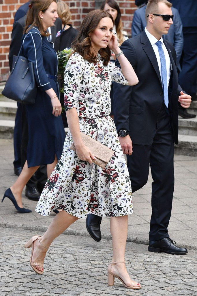 Kate Middleton S Block Heel Pumps Are So Much Cooler Than Stilettos